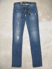 Lucky Jeans Lola Skinny Wmn Sz 0 or 25 Distressed Wash NEW $99
