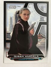 2017 Star Wars Galactic Files Reborn #TPM-3 Queen Amidala NrMint-Mint
