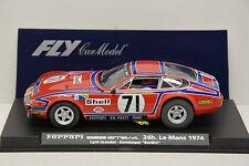 SLOT FERRARI 365 GTB/4 LE MANS 1974 #71 FLY 1/32 NEUVE EN BOITE