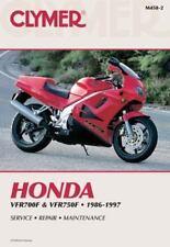 1986-1997 Honda VFR700F VFR700F2 VFR750F Repair Service Shop Manual Book M4582