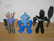 Lego Galidor Lot of 3 McDonalds Happy Meal Toys 100% Complete Nick Gorm Nepol