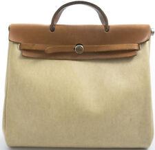 HERMES HERBAG Serviette Briefcase Business Bag Sac consomme Kelly Model