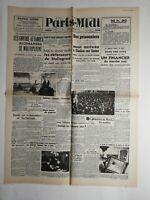 N230 La Une Du Journal paris-midi 4 février 1943 défenseurs Stalingrad