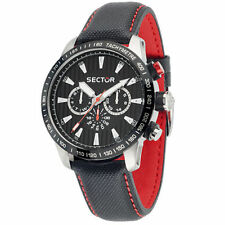 Stainless Steel Case Round Sector 9 Watches with Chronograph