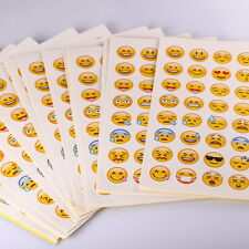 20 Pack Emoji Stickers Die Cut Smily Face Stickers For Phone Notebook Twitter