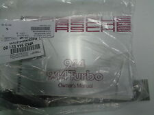 PORSCHE 944 944 TURBO 951 OWNERS MANUAL BRAND NEW GENUINE PORSCHE 1989 ONLY