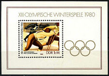 East Germany 1980 SG#MSE2192 Olympic Winter Games MNH M/S Sheet #D41808