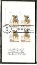 US SC # 2818 Buffalo Soldiers FDC. No cachet