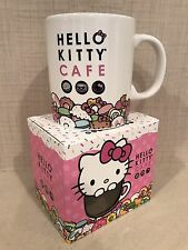 Hello Kitty Cafe Exclusive Pop-Up Store MUG Cup Brand New In Box