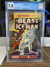 X-MEN #47 by Marvel Comics CGC 7.0 (1968) HUMAN TORCH Cameo, OFF WHITE Pages KEY