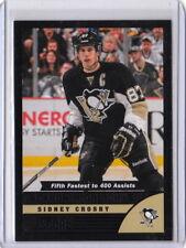 13/14 2013/14 Score Hockey Black Parallel #589 Sidney Crosby Penguins