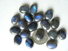Labradorite Cabochons Avg size 12x18mm Chatoyat  and glowing 14 Carats