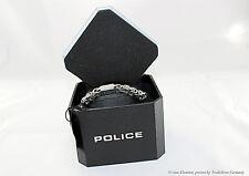 POLICE Armband PJ24654BSS/01-S Herren Schmuck Edelstahl Armkette silber Neu&OVP!