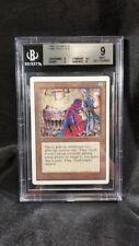 MTG Graded Magic Card: Unlimited: BGS 9: Time Vault