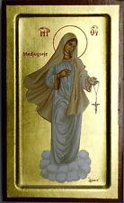 Icona Madonna di Medjugorje icon IKONA icone icoon Madonna Maria Međugorje
