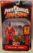 "Power Rangers Ninja Storm 5"" Evil Space Alien Kelzak Fury Figure By Bandai (MOC)"