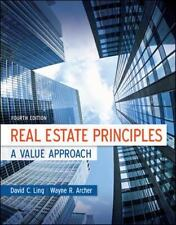 Real Estate Principles A Value Approach Fourth Edition by LING