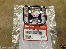 Genuine OEM Honda Accord 4Dr Sedan Front Grill H Emblem 1998-2000