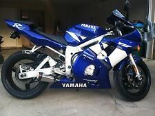 Yamaha R6 Exhaust Pipe 99-02 YZF 1999 2000 2001 2002 XB08 slip on muffler