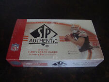 2007 Upper Deck SP Authentic Football Box---Hobby---Factory Sealed---24 Packs