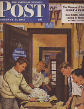 1951 Saturday Evening Post February 3-Al Cohn Magician