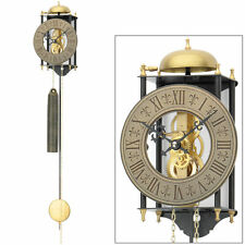 AMS Pendulum clock Wall mechanical Skeleton movement Metal painted New