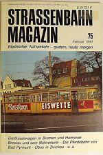 Straßenbahn Magazin Heft 75 Februar, S. 1-88 Franckh'sche Verlagshandlung
