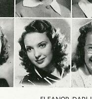 LINDA DARNELL, ANNE BAXTER, FREDDIE BARTHOLOMEW, etc. High School Yearbook