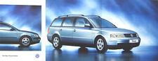 VW Volkswagen Passat Estate MK 4 VR6 V5 Sport SE S 1997-98 Original UK Brochure