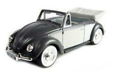 LLEDO VANGUARDS VA00203 VW Beetle Convertible die cast model car dolphin grey