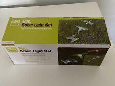Butterfly Dragonfly Hummingbird Color Changing Solar Lights/ NIB