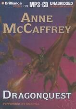 Dragonquest by Anne McCaffrey (CD-Audio, 2013)