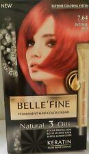 PERMANENT HAIR DYE INTENSE RED 7.64 NEW COLOUR SYSTEM KERATIN ARGAIN ALMOND OLIV