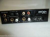 Creative Labs Sound Blaster Xtreme Fidelity I/O Hub Optical MIDI In SPDIF SB0250
