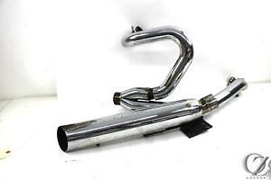 04 Harley V rod V-rod VRSCB 1250 2 Into 1 Full Exhaust Full System