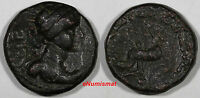 KUSHAN .  Vima Taktu (Soter Megas)  c. 55-105 AD - AE Tetradrachm