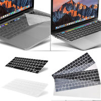 """2016 Silicone Laptop Keyboard Cover Skin for Macbook Pro 13//15/"""" with Touch Bar"""