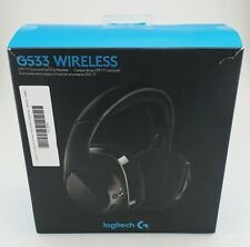 Logitech G533 DTS 7.1 Surround Wireless Gaming Headset In Box Fair Shape