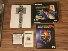 Lylat Wars Nintendo 64 N64 Game Big Box Complete CIB Collectors PAL PART SEALED