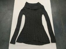 Wet Seal Cowl Neck Gray Sweater Womens Small