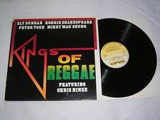 LP - Kings of Reggae Sly Dunbar Robbie Shakespeare Peter Tosh - 1986 # cleaned