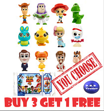 Disney Pixar Toy Story 4 Minis blind bag minifigures Series 1 2 & 3 *You Choose*