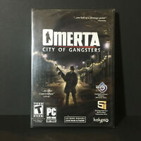 Omerta: City Of Gangsters - Atlantic City RPG Turn-Based Tactical Combat PC NEW
