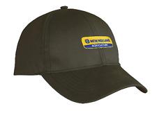 New Holland Brown Oilskin Cap Part# NHOSCAP