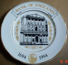 James Dean Pottery Large Collectors Plate THE BANK OF ENGLAND 1694 - 1994
