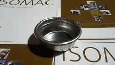 Basket filter two cup size 14 g Isomac for all e61 style models & venus 000707