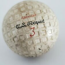1920's Square Mesh Golf Ball, made by U.S. Royal.The model name is Electronic.
