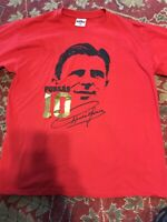 Ferenc Puskas Official T-Shirt XL~ Made in Hungary Real Madrid