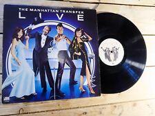 THE MANHATTANT TRANSFER LIVE LP VINYLE EX COVER EX ORIGINAL 1978