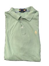 New listing Ralph Lauren Men Rugby Skull Crossbones Distressed Cotton Mesh Polo Shirt XL